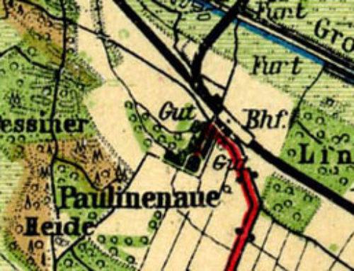 Projekt Geocaching in Paulinenaue