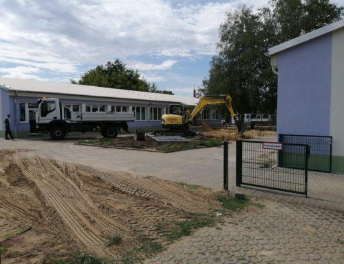 Nächster Bauabschnitt an der Schule