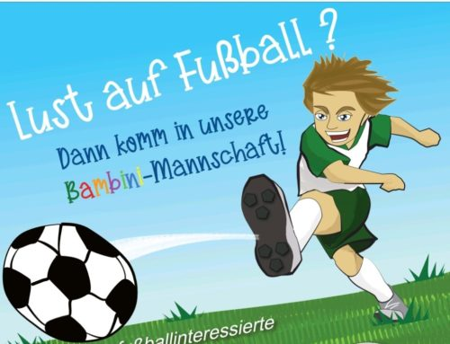 Fußball-Schnuppertraining für Kinder