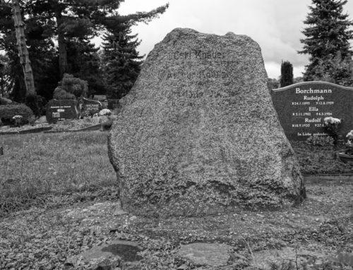 Spendenaufruf für das Grab der Gebrüder Knauer